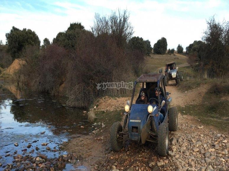 Enduro buggy route through El Casar