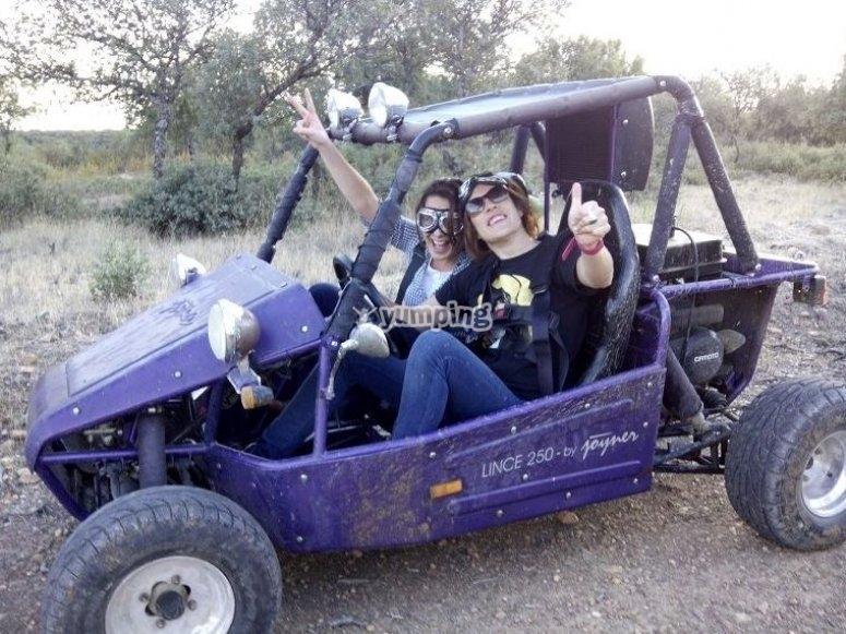 Promoting team spirit with a buggy ride through Guadalajara
