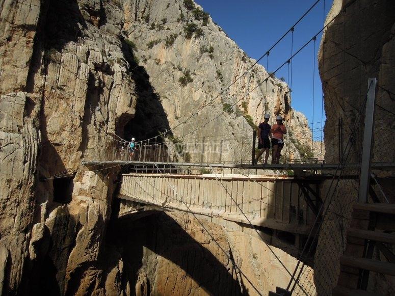 Puente en Caminito del Rey