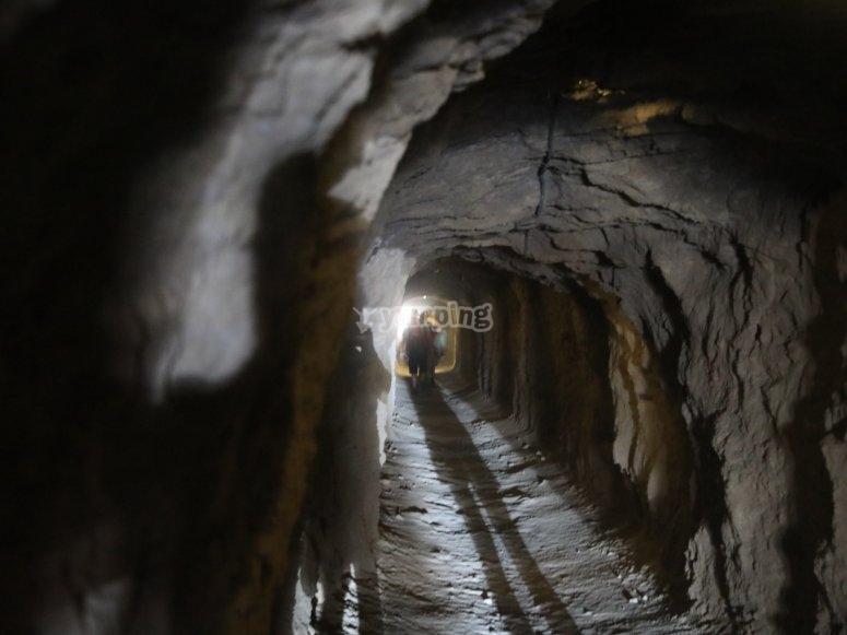 Túnel al interior de Caminito del Rey