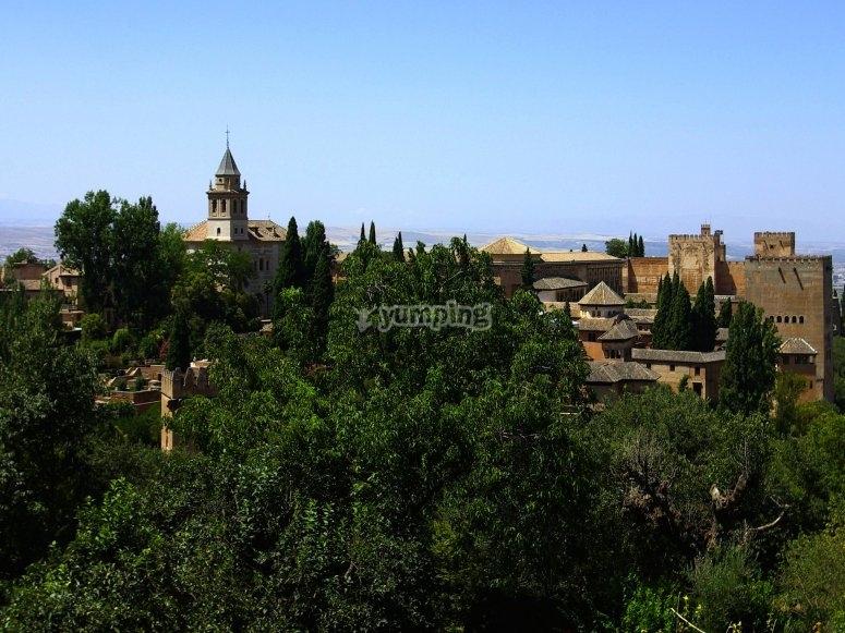 Parques alrededor de la Alhambra