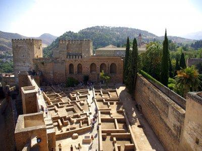 阿尔罕布拉宫的入口和导览游3小时