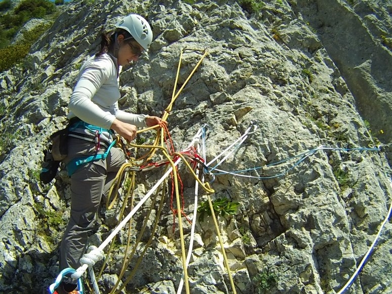 Climbing techniques developed