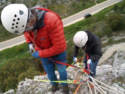 Corso di arrampicata a Burgos livello II