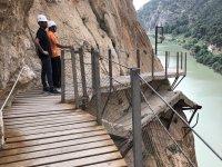 Paseo guiado por pasarela Caminito del Rey