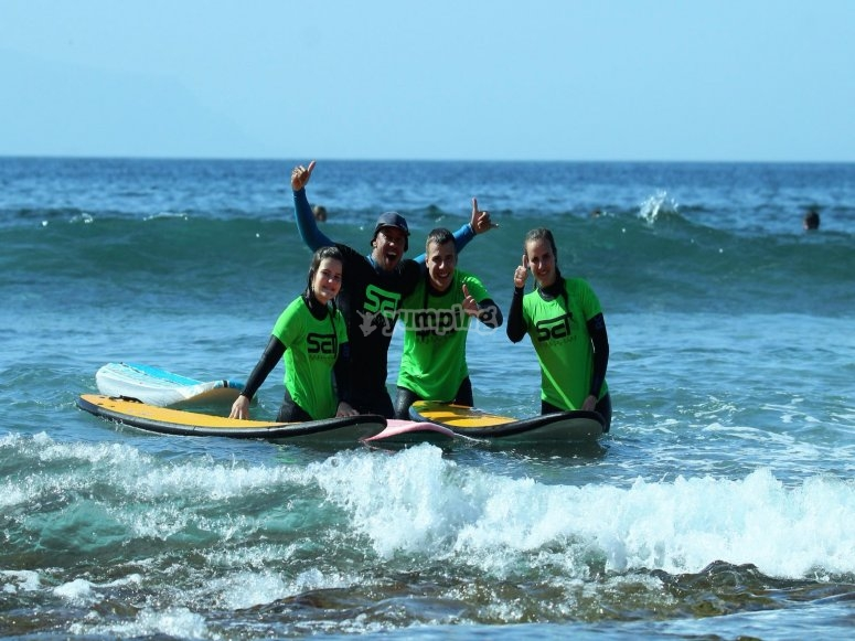 Instructor de surf en Los Cristianos
