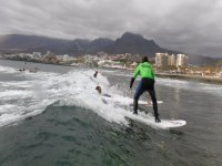 Clase de surf principiantes Playa las Américas 2h