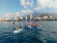 Kayak y snorkel con tortugas Los Cristianos