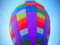 彩色气球的一部分