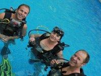 Buceo en aguas confinadas en Castellon