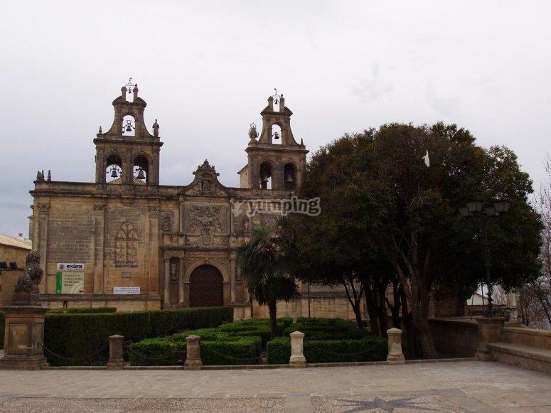 The Church of Santa María de Los Reales Alcáceres de Úbeda