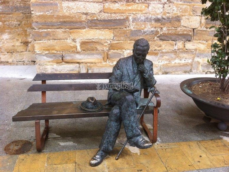 Antonio Machado leaving a mark on Baeza