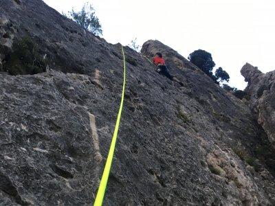 拉巴斯蒂达的自然攀登课程2小时