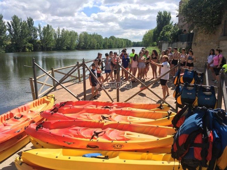 Equipamiento necesario para ruta en kayak