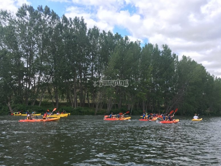Travesía por el Río Ebro en kayak doble