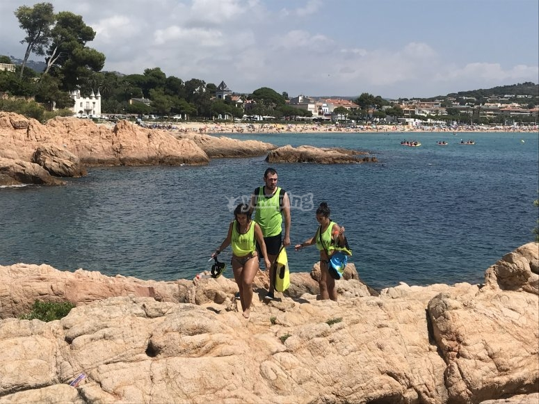 Escape room y snorkel en Sant Feliu de Gueixols