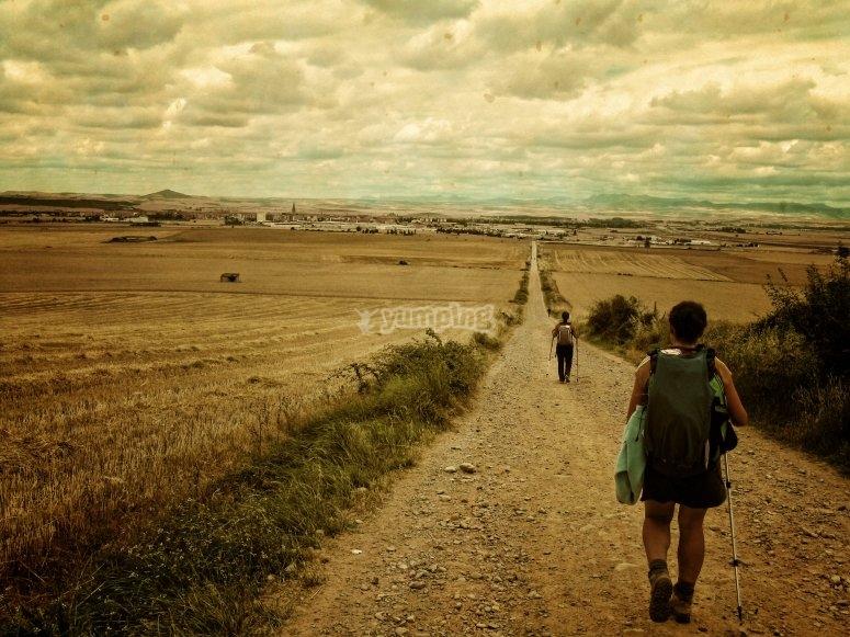 里奥哈徒步旅行的日子