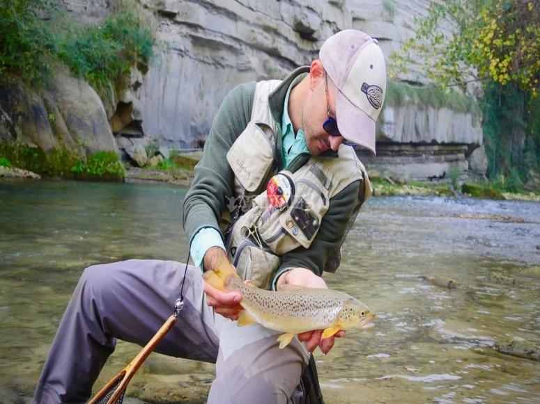 Pescando el río de Albacete