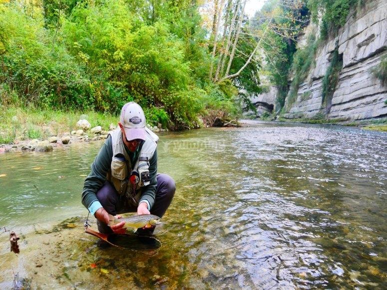 Excursión de pesca por Albacete