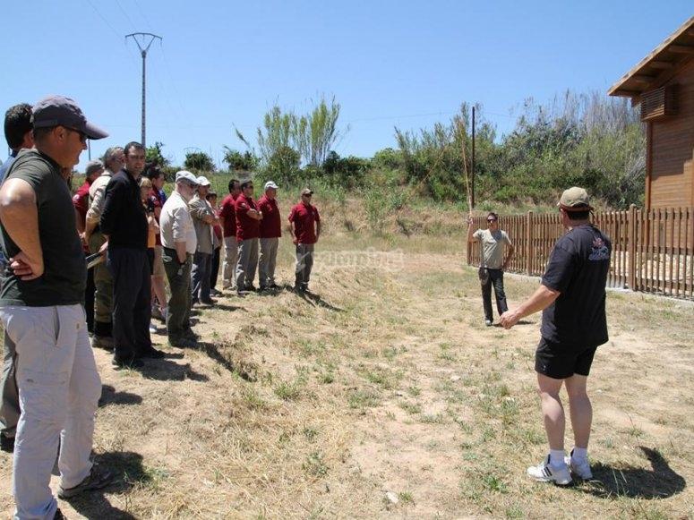 Clase de pesca con mosca en Albacete