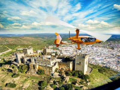 Giro in elicottero del castello di Almodóvar 70 min