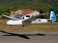 750米滑翔机在奥德纳上空飞行