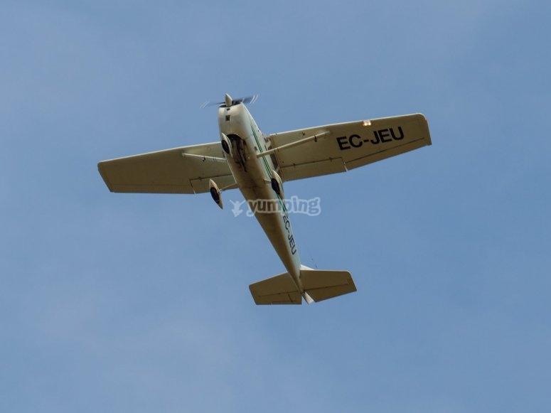 Piloto por un día con avioneta Cesna 172