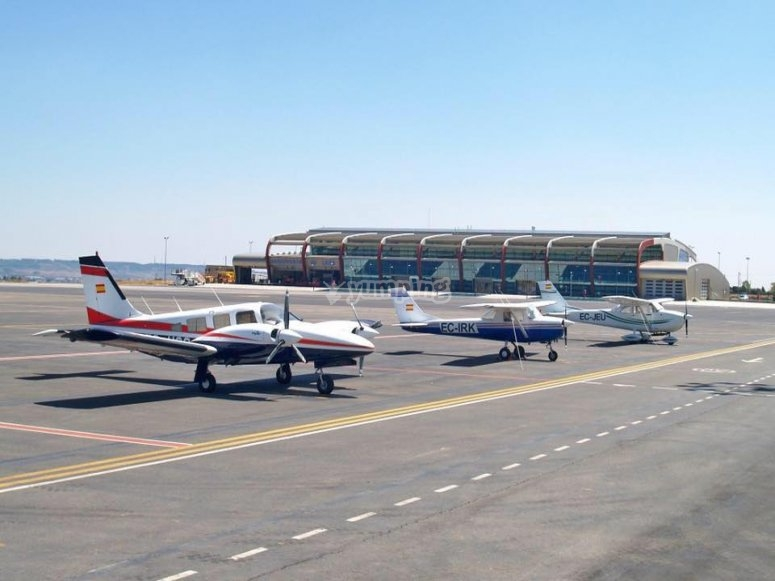 Departures from León airport
