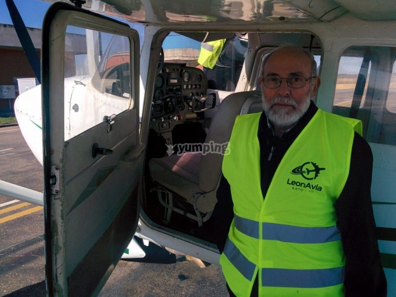 Pilot for a day in León