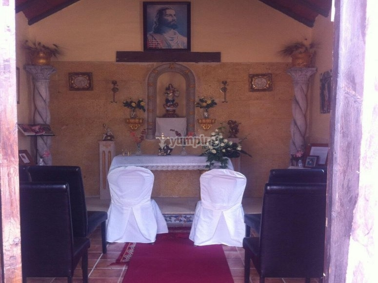 Our hermitage for the celebration of religious events