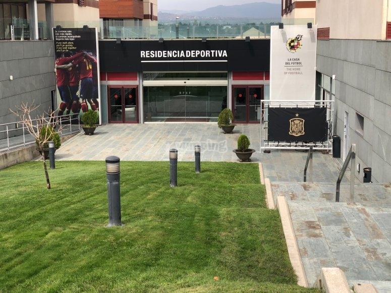 Campus de fútbol en Las Rozas