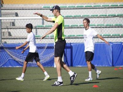Campus di calcio interno Natale Las Rozas 5 giorni