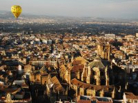 Hot air ballooning in Granada