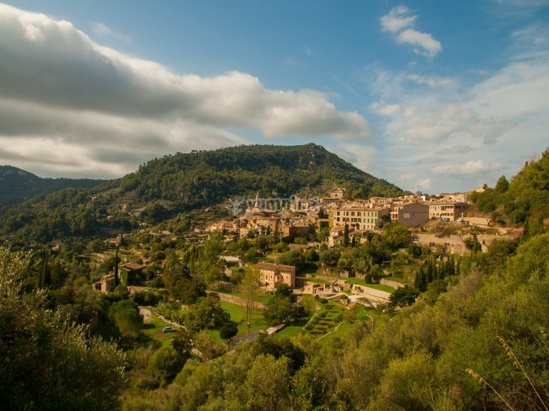 Views of the natural landscape of Mallorca