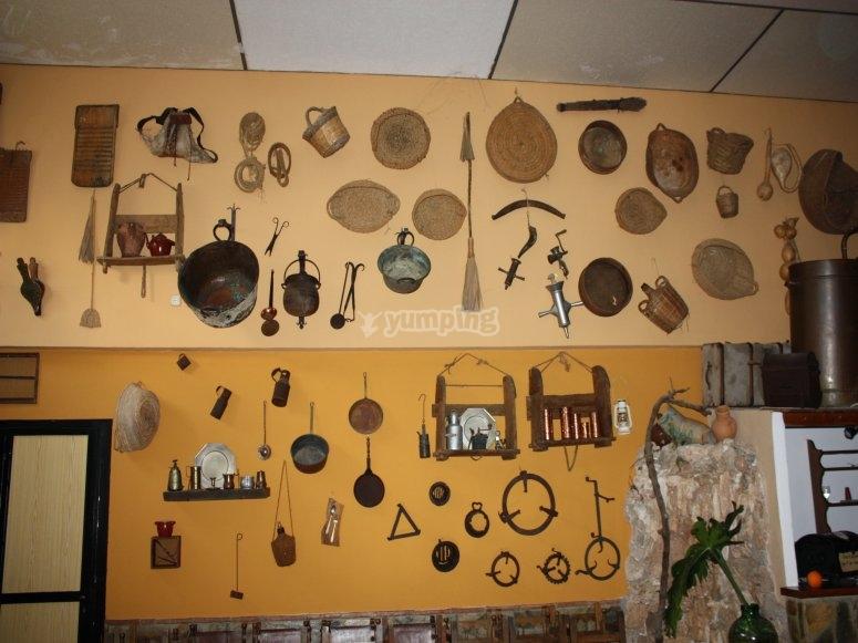 Visita a museo de aperos