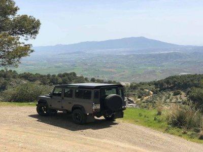 4x4 route and guided tour Olivos Aloreños Málaga
