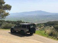 Paseo en 4x4 en tour de la oliva en Málaga