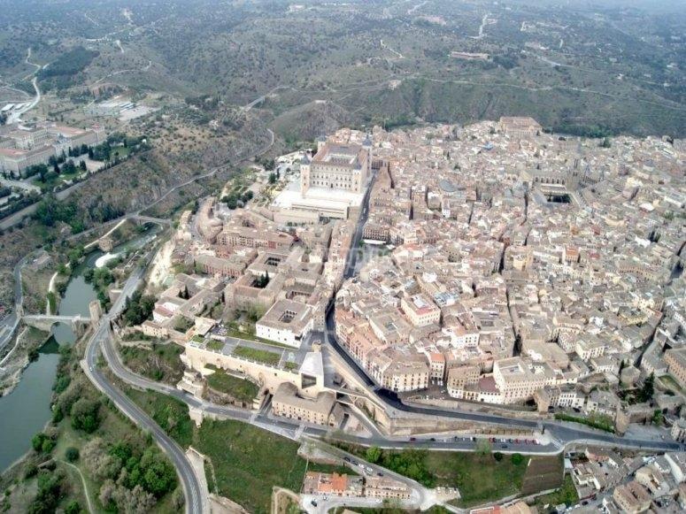 Bird's eye view of Toledo