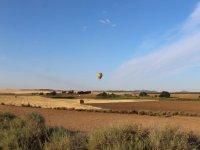 Hot air balloon flight in Toledo