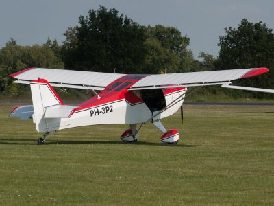 Ultralight flight baptism La Morgal aerodrome