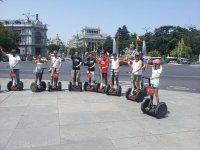 Plaza de Cibeles y Gran Via