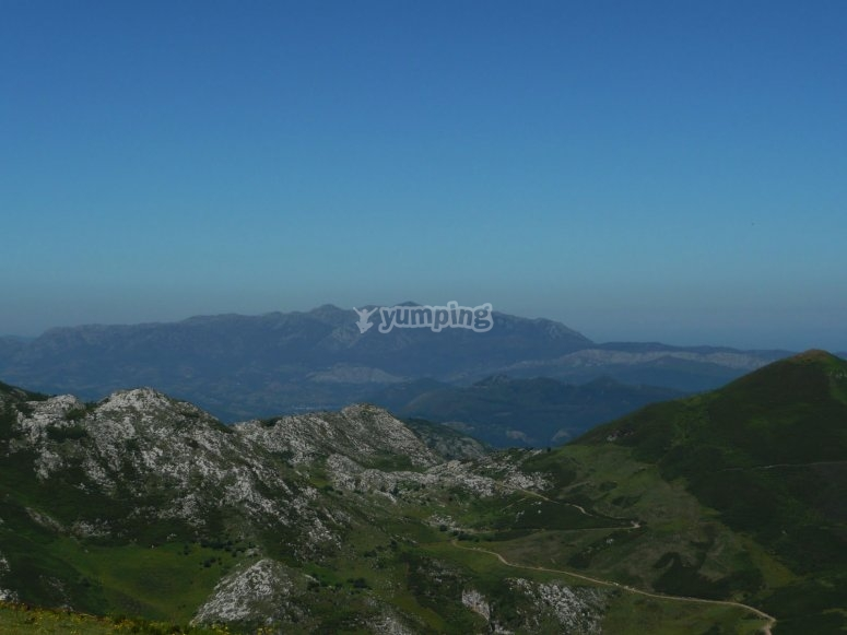 Asturian places to fly over ultralight