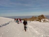 Ruta en raquetas de nieve hacia Pico Veleta 4horas