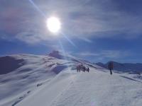 Temporada de nieve en el Veleta
