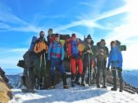 Alcanzando la cima del Mulhacén