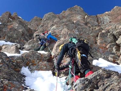 Alpinismo expertos por Corredor del Pico Veleta