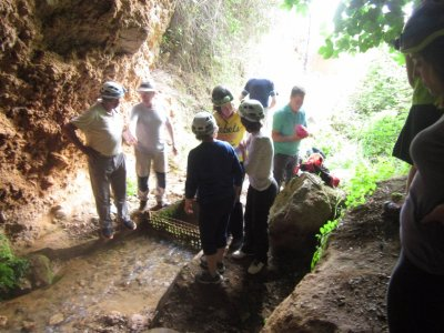 Ruta de espeleología en Cueva del Agua 2 horas