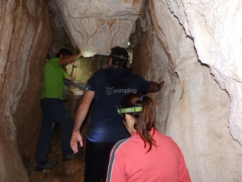 Cave raid in Torcal