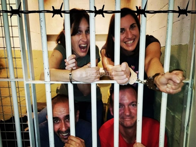 Escape room  El secreto de Alcatraz