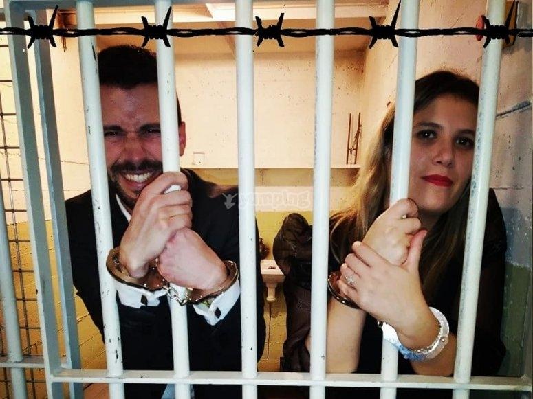 Escape room ambientado en Alcatraz
